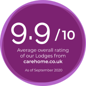 9.9 average overall rating carehomes.co.uk